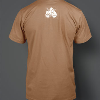 Fight Strong T Shirt Back
